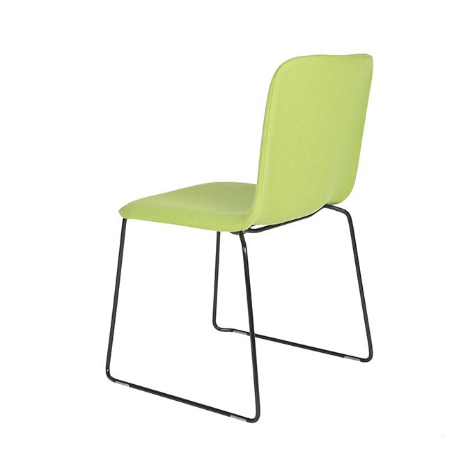 Than-Chair-Richard-Hutten-Lensvelt-Kvadrat-Tonus-frame-black-view-diagonally-behind