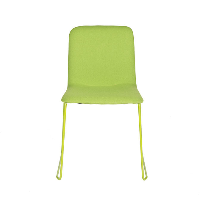 Than-Chair-Richard-Hutten-Lensvelt-Kvadrat-Tonus-frame-green-front